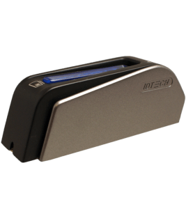 ID TECH's Augusta is a dual EMV/MSR card reader.